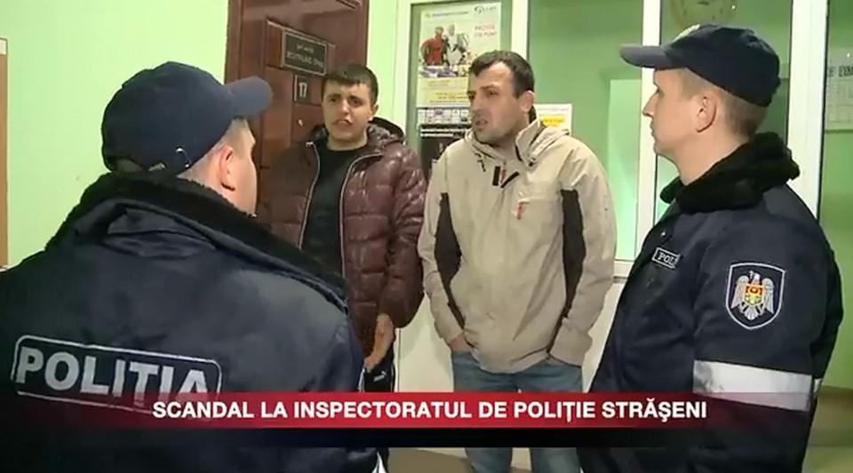 SCANDAL LA INSPECTORATUL DE POLIŢIE STRĂŞENI