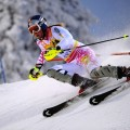 LEVI, FINLAND - NOVEMBER 14:  (FRANCE OUT) Lindsey Vonn of the USA competes during the Alpine FIS Ski World Cup Women's Slalom on November 14, 2009 in Levi, Finland.  (Photo by Alain Grosclaude/Agence Zoom/Getty Images) *** Local Caption *** Lindsey Vonn