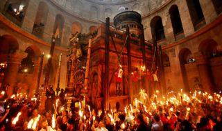 Focul Haric s-a pogorât la Ierusalim şi în acest an. Miracolul s-a produs după ce patriarhul grec al Ierusalimului, Theophilos al III-lea, a rostit o rugăciune în Biserica Sfântului Mormânt. Mii de creştini ortodocşi din întreaga lume au venit la Ierusalim pentru a participa la ceremonia din Sâmbăta Mare. Enoriaşii s-au înghesuit ca să ia... Post-ul Miracolul s-a produs! Focul Haric s-a aprins la Ierusalim apare prima dată în CANAL 3.