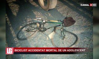 A izbit violent un om și s-a făcut nevăzut. Un tânăr, care nu a atins vârsta majoratului, aflat la volanul unui automobil de marca KIA a lovit frontal un biciclist. Ciocnirea a fost atât de puternică, încât victima a suferit leziuni incompatibile cu viața. Accidentul, cu final tragic pentru bărbatul de aproximativ 50 de ani,... Post-ul Biciclist accidentat mortal de un adolescent apare prima dată în CANAL 3.